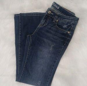 2/$20 Adikto Sz 8/ W30 Jeans